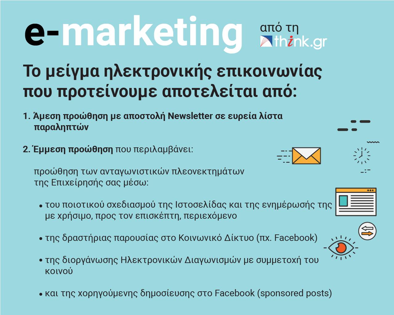 e-marketing από τη think.gr ΑΕ